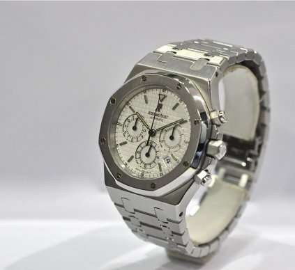 0814311fd54 ... AUDEMARS PIGUET ROYAL OAK CHRONOGRAPH 39MM STAINLESS STEEL. AP